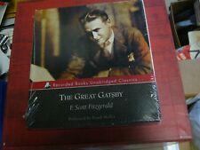 The Great Gatsby F. Scott Fitzgerald NEW CD Unabridged Audiobook Sealed