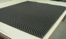 "Convoluted Charcoal Egg Crate Acoustic Soundproofing Foam 82""x 108""x 2-1/2"""