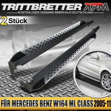 Set Aluminium Trittbretter Mercedes ML-Klasse W164 2005-2011 inkl. Anbaumaterial