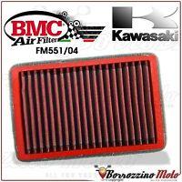 FILTRO DE AIRE DEPORTIVO LAVABLE BMC FM551/04 KAWASAKI EX 300 R NINJA 2013-2015