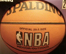 SPALDING NBA BASKETBALL GREAT TO GET SIGNED