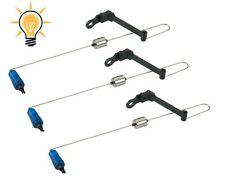 kit 3 swinger blu con luce pesca carpfishing scimmiette luminose avvisatore