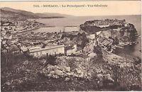 Monaco - cartolina - La Principato - Vista generale