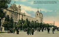 SAN DIEGO CA VARIED INDUSTRIES BUILDING PANAMA CALIFORNIA EXPO POSTCARD c1919