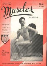 MUSCLES 27 1948 GEORGE EIFERMAN Bodybuilding GAY Beefcake Culturisme Mag revue