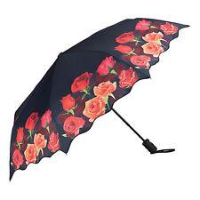 Von Lilienfeld Paraguas con motivo de bolsillo Rosas bouquet roses