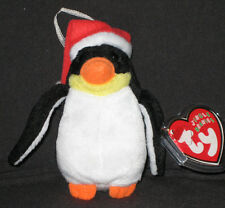 TY ZERO the PENGUIN JINGLE BEANIE BABY - MINT with MINT TAG