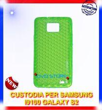 Pellicola+Custodia EXA VERDE per Samsung I9100 galaxy s2 plus I9105