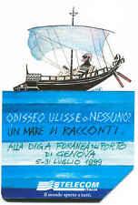 ODISSEO ULISSE  GENOVA SCHEDA TELEFONICA TELECOM 1033