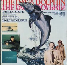 The Day of the Dolphin OST JAPAN LP LINER NOTES Georges Delerue, George C. Scott