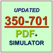 CCNP CCIE Cisco Security Core Technologies 350-701 SCOR Test Exam QA PDF+SIM