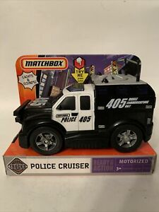 Matchbox Police Cruiser Motorized 2006 Truck Police 405 New Real Action Trucks