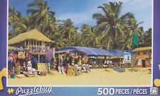 NEW Puzzlebug 500 Piece Jigsaw Puzzle ~ Palolem Beach, Southern Goa