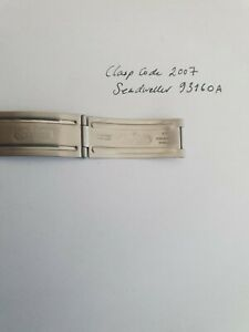 Rolex Submainer  93160A Clasp Blades 2007