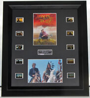 """""""DANCES WITH WOLVES""""  KEVIN COSTNER FILM CELLS MOUNTED FILM COA CLASSIC"""