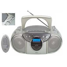 ELTA 6725 CD / MP3 RADIO FM + USB / SD input-BATTERIA O RETE + R / C * * livellata