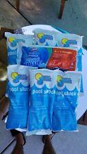 New listing In The Swim Lot of Six (6) x 1 lb. Bags Pool Shock + One Bonus Clorox Xtra Blue
