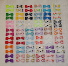 84Pcs Baby Toddler Girl Ribbon Hair bows--- 2.5 inches,42 colors ( without clip)