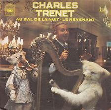 """7"""" 45 TOURS FRANCE CHARLES TRENET """"Au Bal De La Nuit / Le Revenant"""" 1970 BOLLING"""