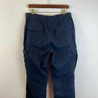 Vintage Propper Mens Cargo Trousers W32 L30 Black Military Tactical Combat Pants