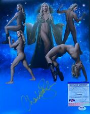 Charlotte Flair Signed 11x14 Sexy Photo Wrestler Diva PSA AI23948