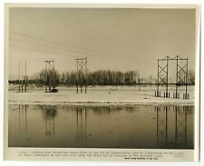 St. Lawrence River - New York Power Authority - Original Vintage Photo - 1958