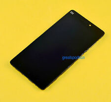 Black Glass LCD Display Touch Screen Digitizer + Frame For XiaoMi 4C Mi4C M4C