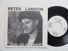PETER LANDON There she goes again Rosanne PLP 1 AUTOPRODUIT Discotheque RTL