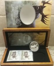 Majestic Moose $5 2004 Limited Edition Stamp & Pure Silver Proof Coin Set Canada