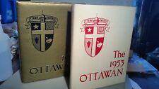 2 The Ottawan yearbook 1952 1953 Ottawa University Kansas
