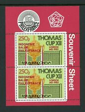 Indonesia note after Scott #1176a MNH S/S OVPT PHILEXFRANCE in RED Cup CV$45+