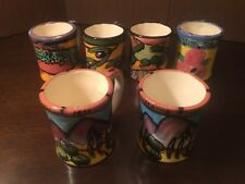 Sunset Magazine Coffee Mugs Set of 6 Limited Edition Executive Gifts Kelly Jo