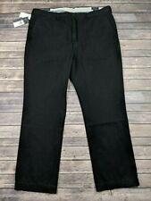 New Polo Ralph Lauren Mens Pants Straight Leg Black Size 42 x 32