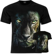 Black Panther Wild T-Shirt  Front and back print