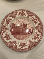 Johnson Brothers OLD BRITAIN CASTLES PINK Dinner Plate 10 inch