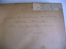 LES ARMEES DE LA REPUBLIQUE Bonnal 1889 envoi à Bardoux vice président sénat