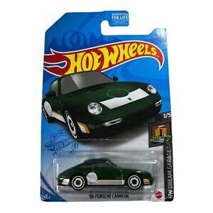 Hot Wheels '96 Porsche Carrera Green #16 16/250 2021 HW Dream Garage 1/5