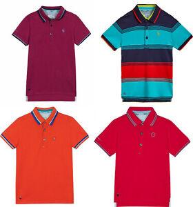 Ted Baker Kids Boys Cotton Polo Shirt Collar T shirt Top Tee  4 5 6 7 8 10 12