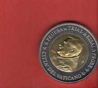 "2 Euro ""specimen"" Probe Vatikan 2006 Groß ab 5 auktionen portofrei"