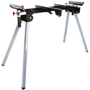 Excel Universal Mitre Saw Stand Workshop with Extending Support Arms & Rollers