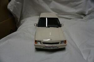1/18 Best of Show BoS White Opel Corsa A (Vauxhall Nova)