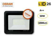 Foco Extraplano LED Proyector Extrafino 50W 6000Lm IP65 tienda/terraza OSRAM
