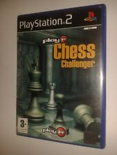 * Sony Playstation 2 Game * PLAY IT CHESS CHALLENGER * PS2