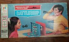 Battleship Board Game - Vintage. Used. Complete - A3F
