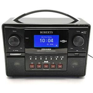 Roberts Stream 83i Internet Radio Wi-Fi DAM FM RDS Digital Clock Alarm 523619