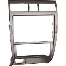 Seat Leon Toledo 1M Mittelkonsole Blende Doppel DIN / Navi Grau Effekt