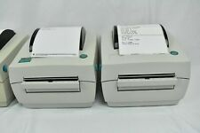 Used Tested Zebra Eltron LP2844 USB 4 x 6 Thermal Barcode Shipping Label Printer