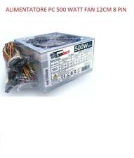 Alimentatore per PC 500W 12cm Ventilatore - 8017643546408