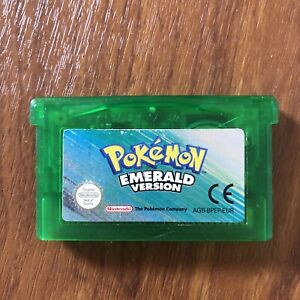 Pokemon Emerald Version GBA - Genuine PAL - Tested And Working - Cartridge Only