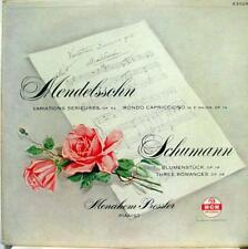 Pressler - Mendelssohn Variations Serieuses Schumann LP VG+ E 3029 Record 1st